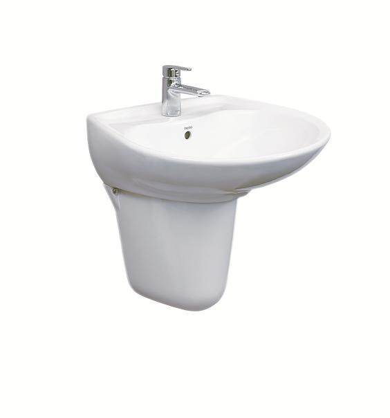 Chậu rửa lavabo chân lửng Viglacera VI51