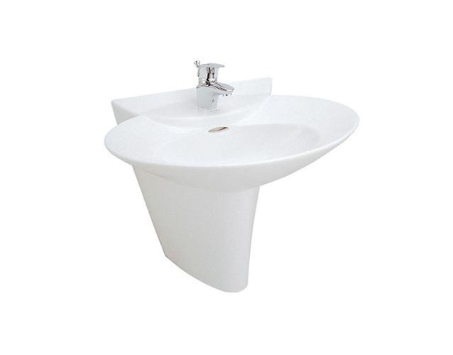 Bộ chậu rửa chân lửng đồng bộ Viglacera VI5